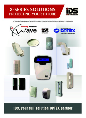 X-Series and OPTEX Catalogue - Wired and Wireless