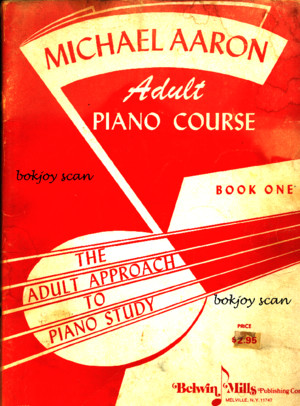 Book - Michael Aaron - Adult Piano Course