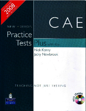 CAE Practice Tests Plus (New Edition 2008)