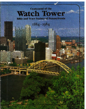 1984 - Watch Tower Centennial 1884 - 1984