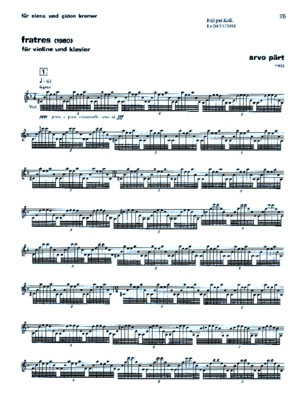 248756582 Arvo Part Fratres for Violin and Piano Full Score