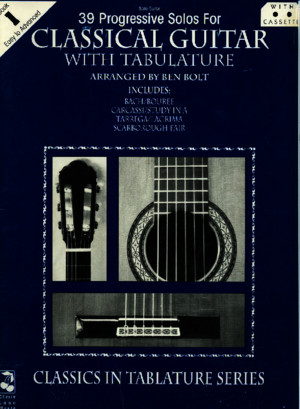 [Guitar] 39 Progressive Solos for Classical Guitar - Book 1