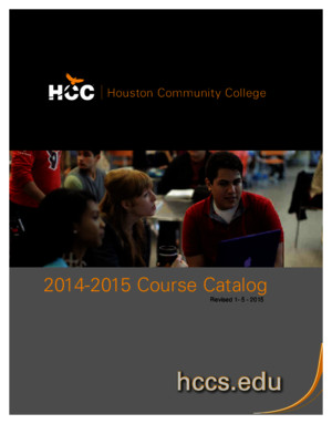HCC 2014 2015 Course Catalog
