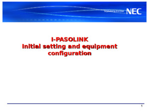 Ipaso Network Management