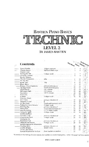 [James Bastien] Bastien Piano Basics Level 2Tec(BookFi)