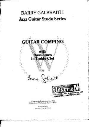 Jazz Method Guitar - Comping (Partitions)