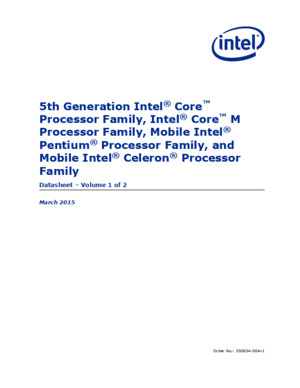 5th Gen Core Family Datasheet Vol 1