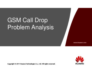 OMO333010 BSC6900 GSM Call Drop Problem Analysis ISSUE 101pdf