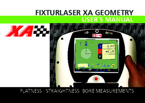P-0226-GB Fixturlaser XA Geometry Manual, 3rd Ed