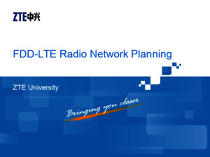 01 FO_NP2001_E01_1 FDD-LTE Radio Network Planning