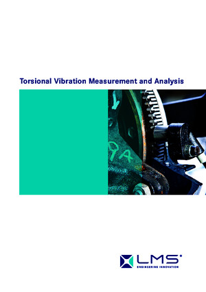 Torsional Vibration - Measurement and Analysispdf