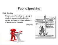 Presentations & Public Speaking